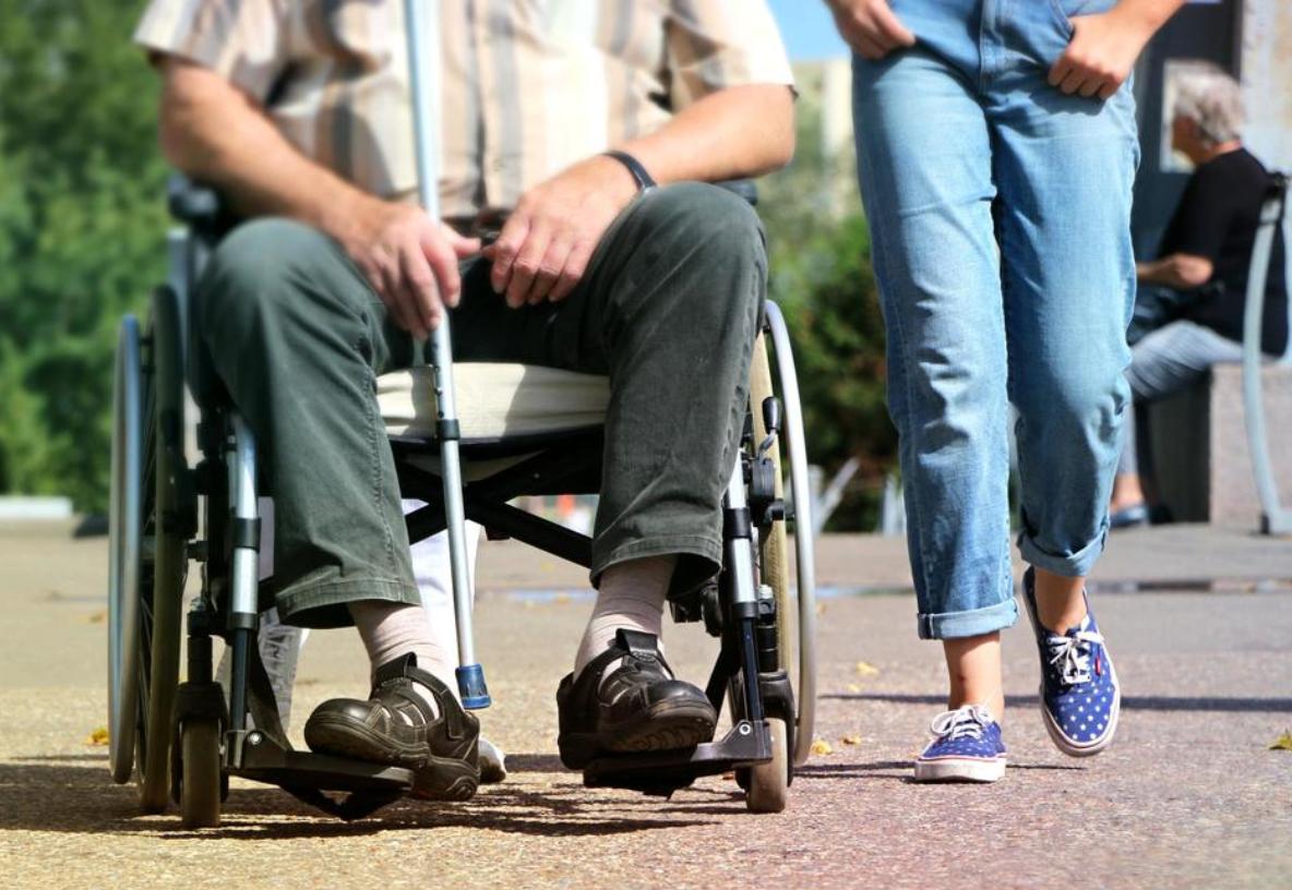 wózek i kule inwalidzkie